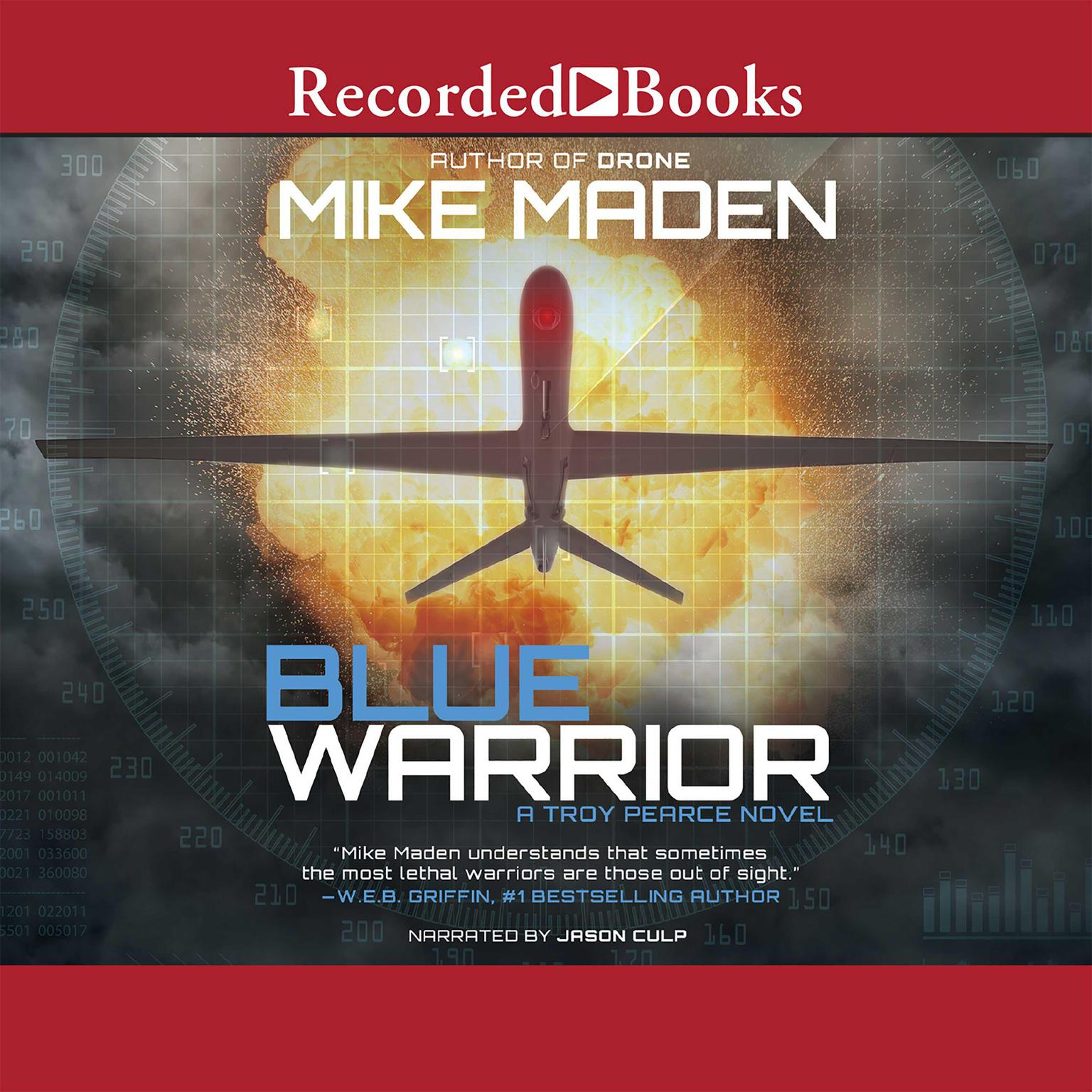 Printable Blue Warrior Audiobook Cover Art