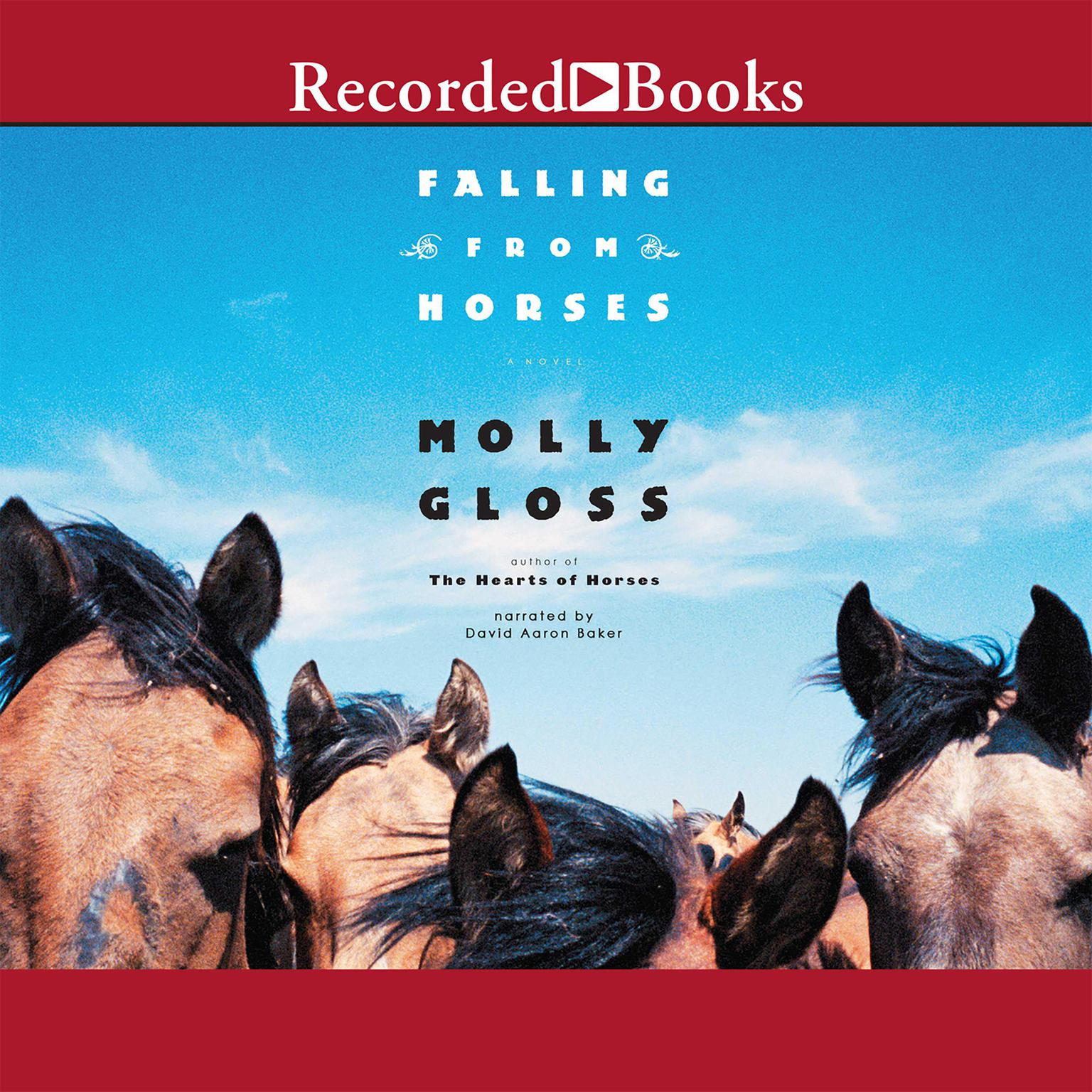 Printable Falling from Horses: A Novel Audiobook Cover Art
