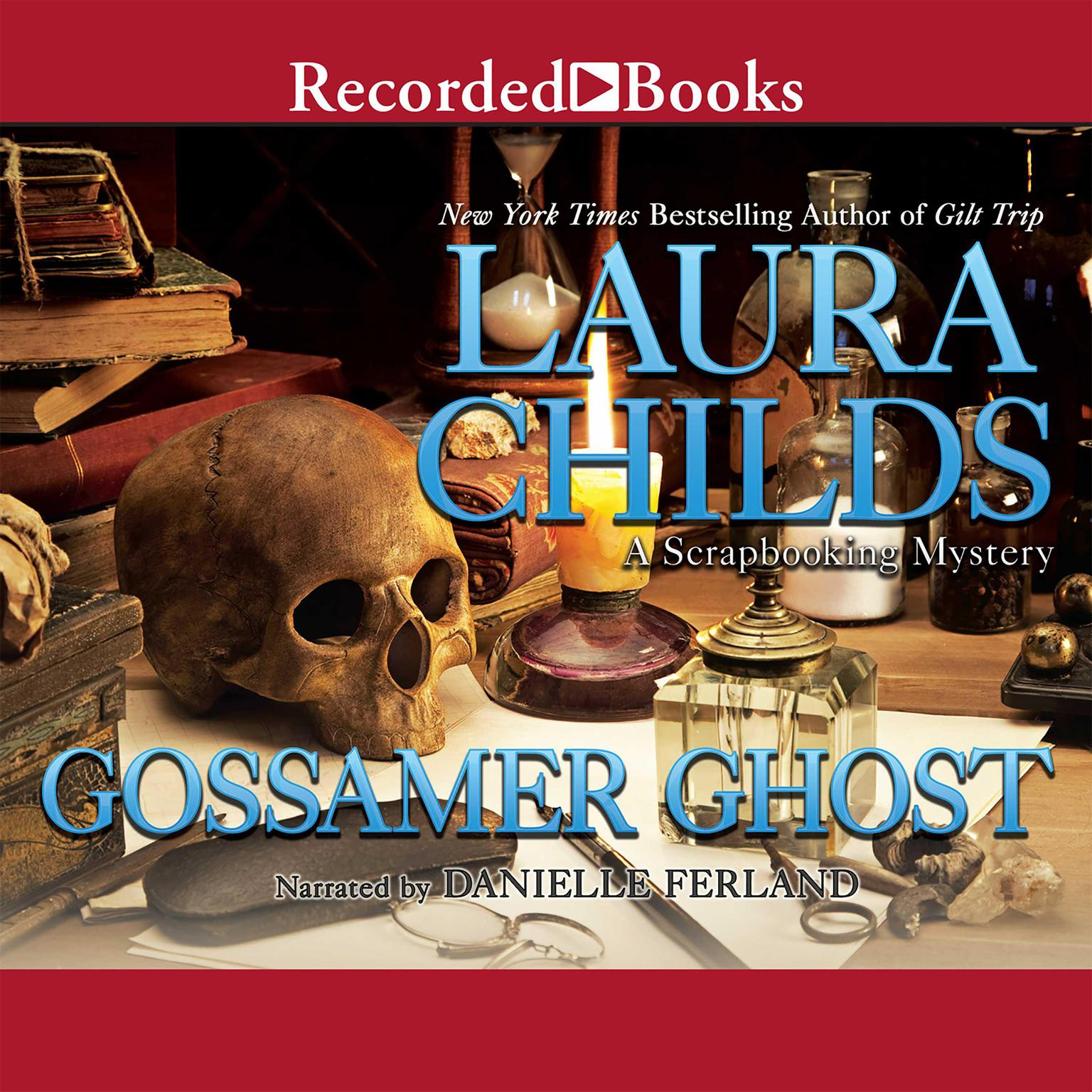 Printable Gossamer Ghost Audiobook Cover Art