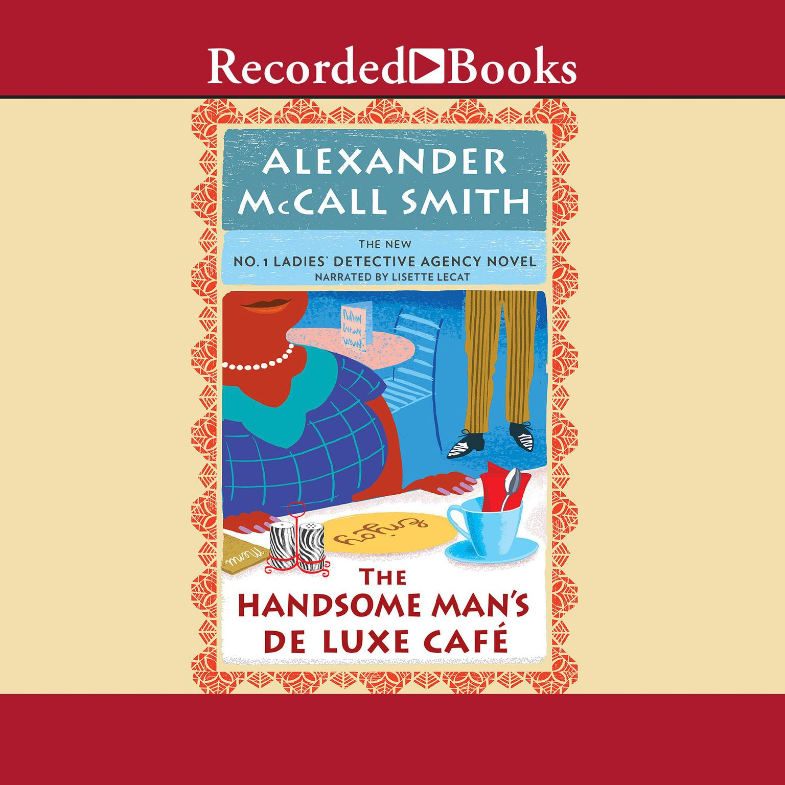 Printable The Handsome Man's Deluxe Cafe Audiobook Cover Art