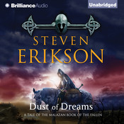 Dust of Dreams Audiobook, by Steven Erikson