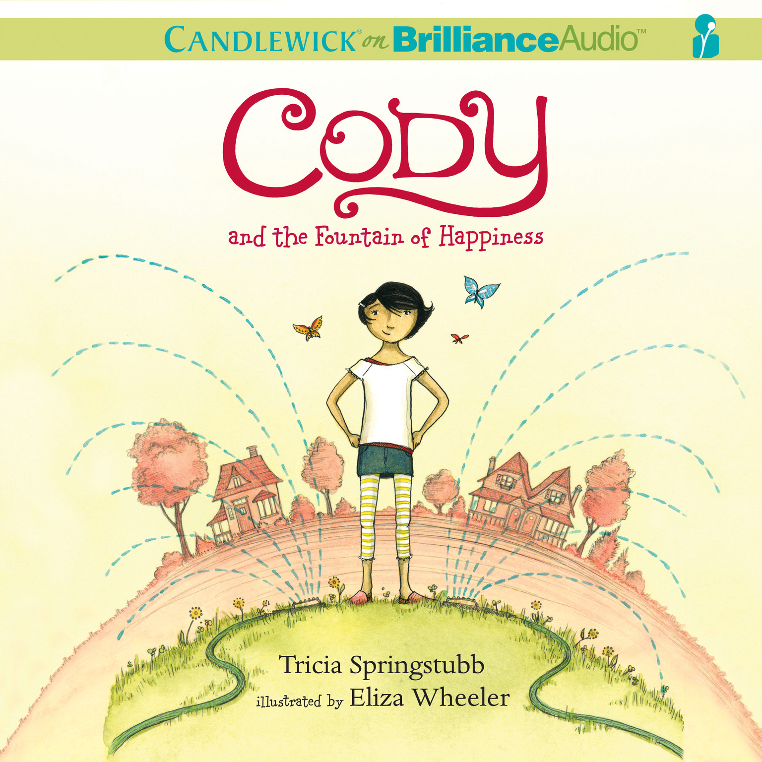 Printable Cody and the Fountain of Happiness Audiobook Cover Art
