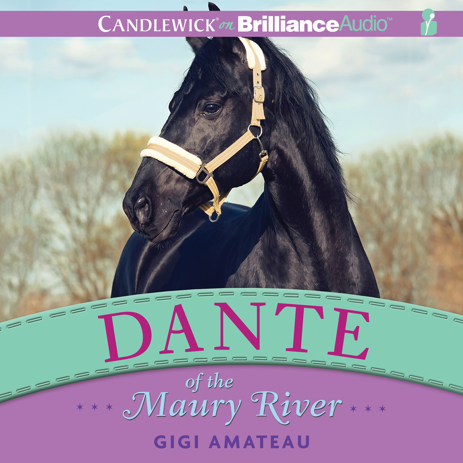 Printable Dante of the Maury River Audiobook Cover Art