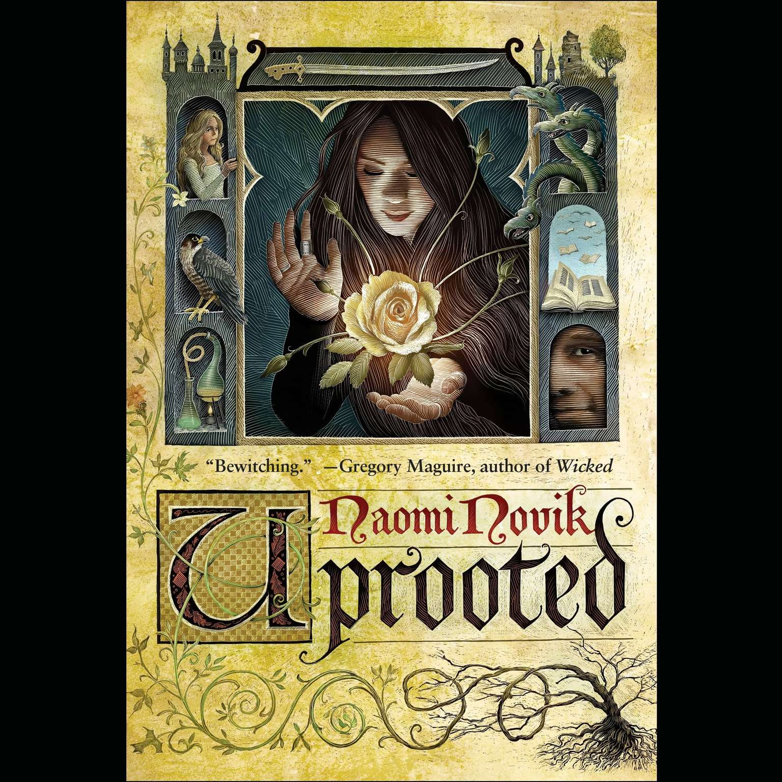 Printable Uprooted Audiobook Cover Art