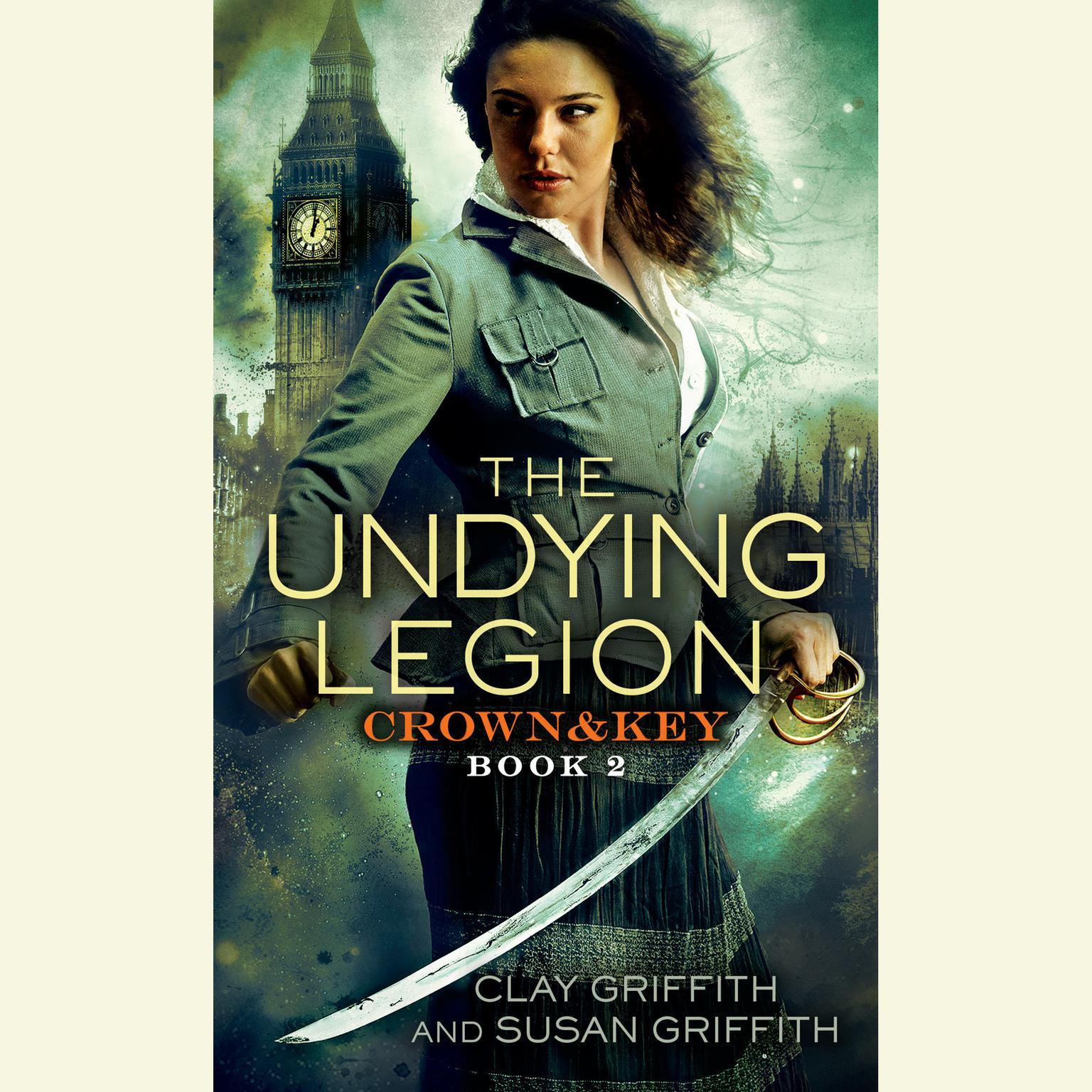 Printable The Undying Legion: Crown & Key Audiobook Cover Art
