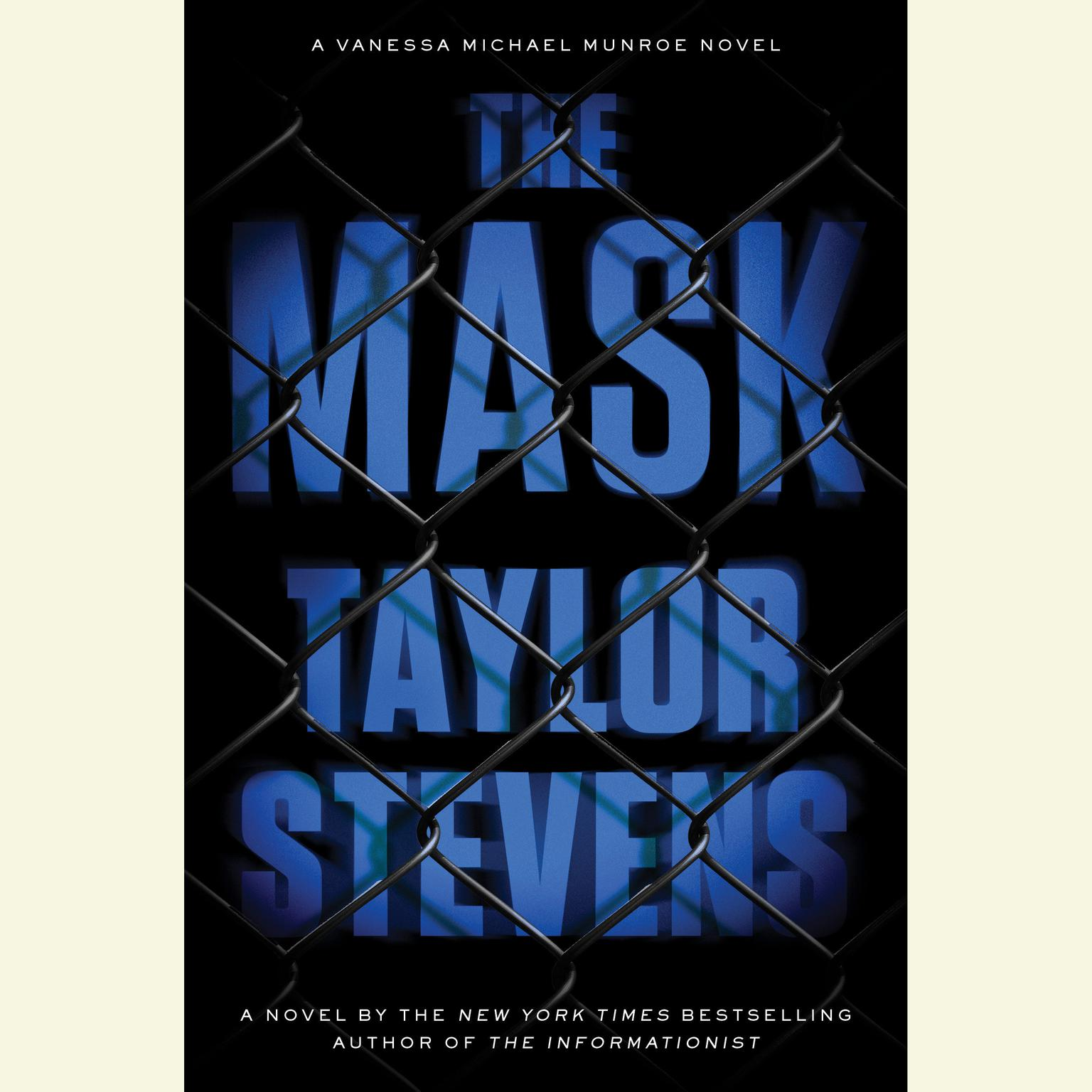 Printable The Mask: A Vanessa Michael Munroe Novel Audiobook Cover Art