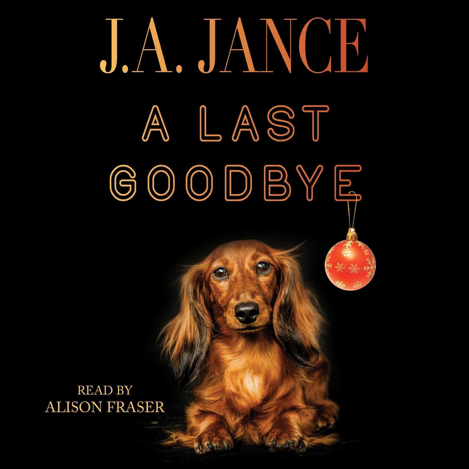 Printable A Last Goodbye: An Ali Reynolds Novella Audiobook Cover Art