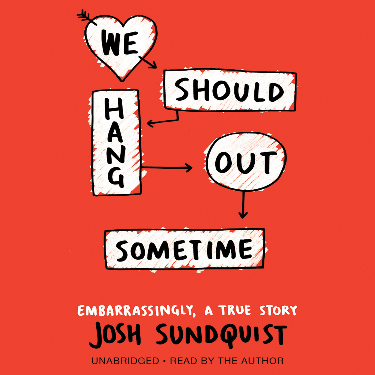 Printable We Should Hang Out Sometime: Embarrassingly, a True Story Audiobook Cover Art
