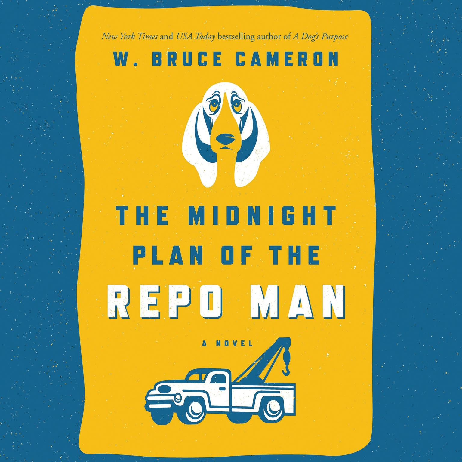 Printable The Midnight Plan of the Repo Man: A Novel Audiobook Cover Art