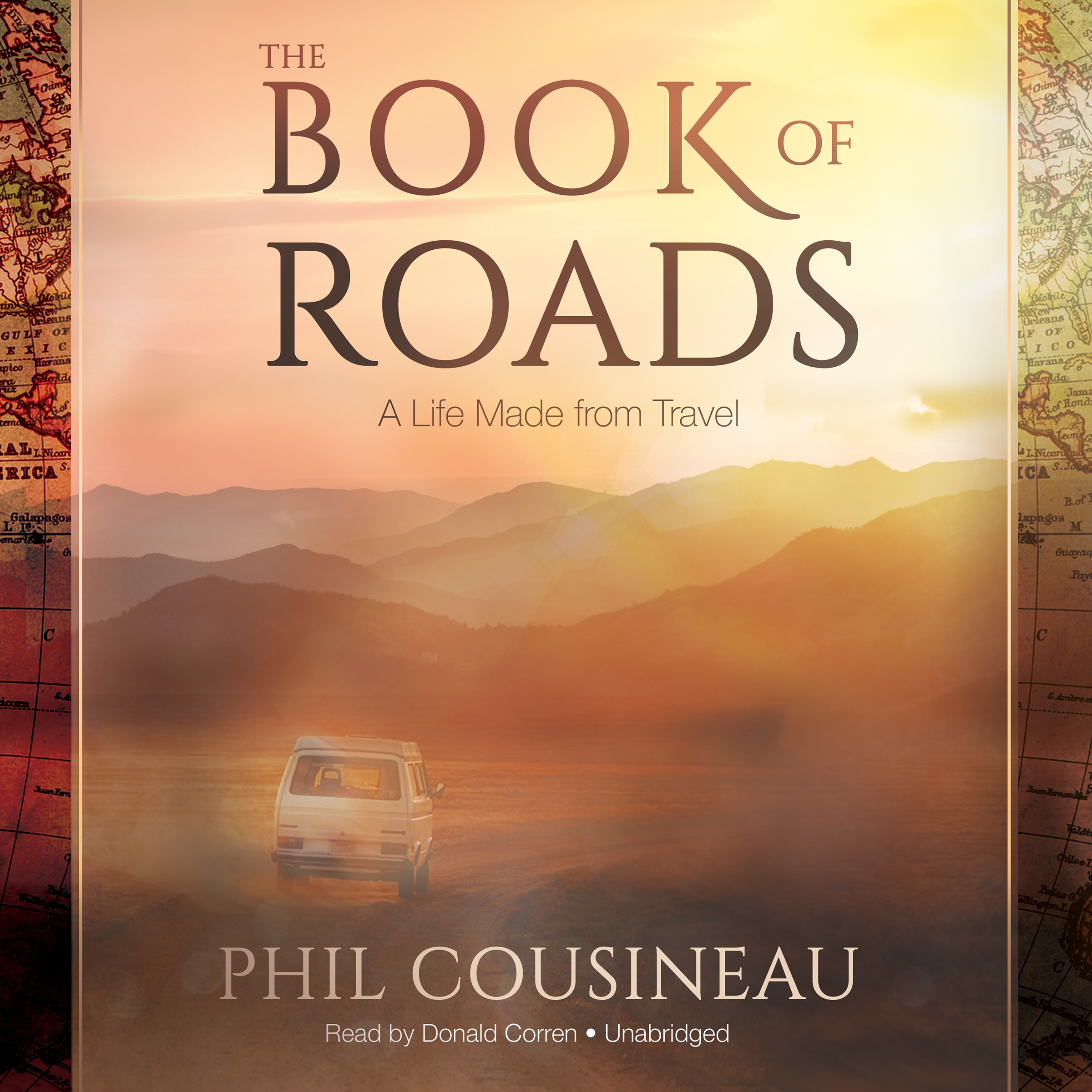 Printable The Book of Roads: A Life Made from Travel Audiobook Cover Art