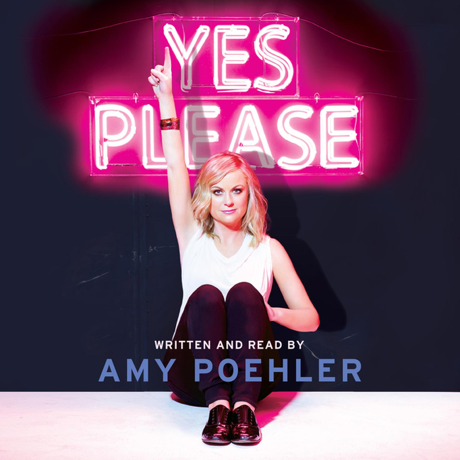 Printable Yes Please Audiobook Cover Art