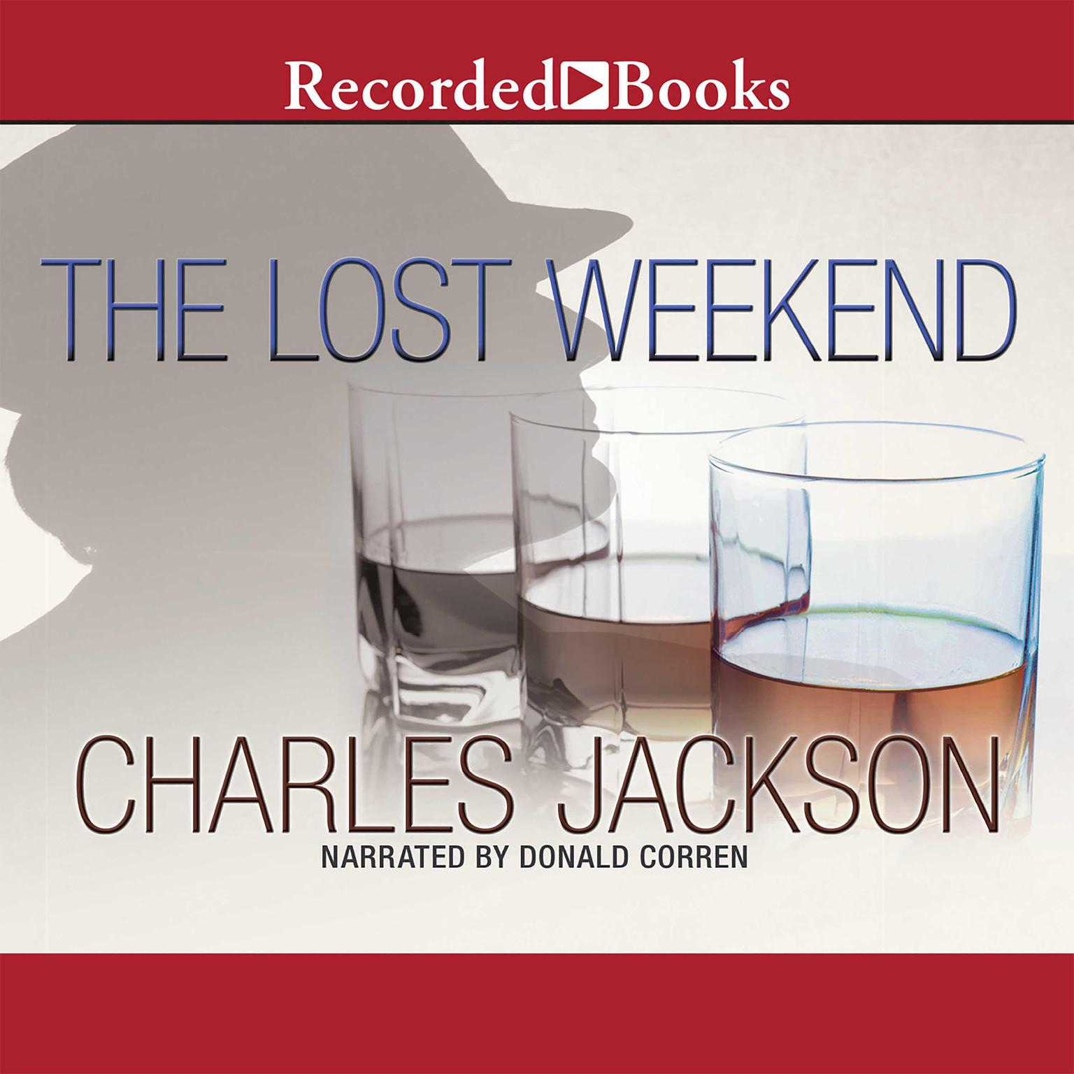 Printable The Lost Weekend Audiobook Cover Art
