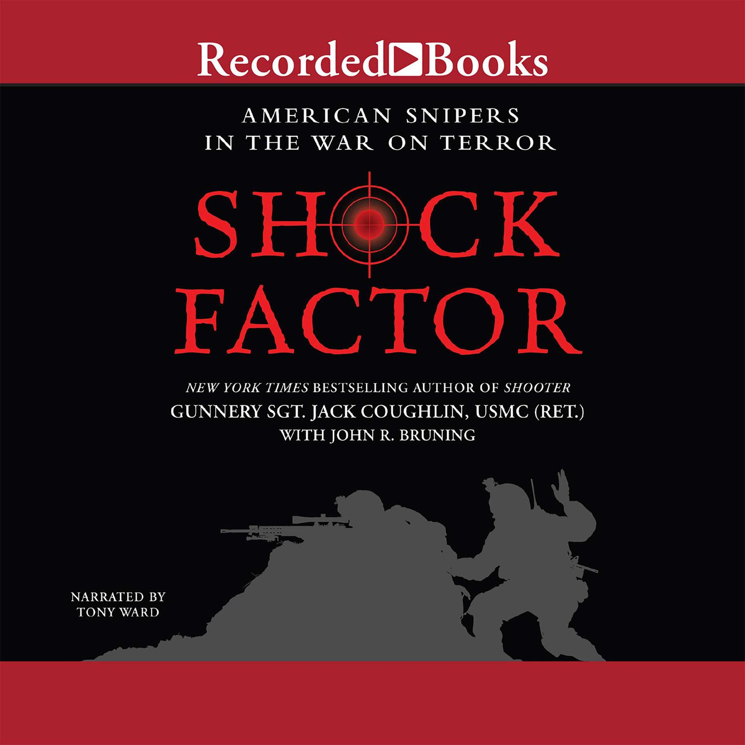Printable Shock Factor: American Snipers in the War on Terror Audiobook Cover Art