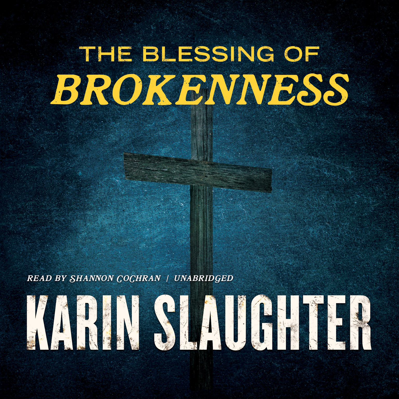 Printable The Blessing of Brokenness Audiobook Cover Art