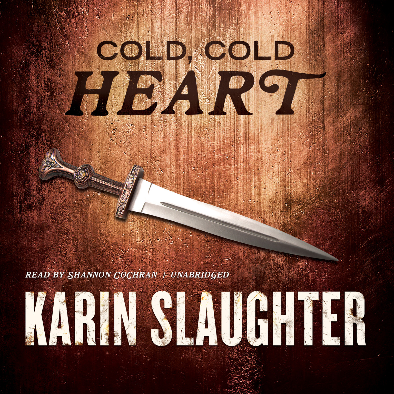 Printable Cold, Cold Heart Audiobook Cover Art