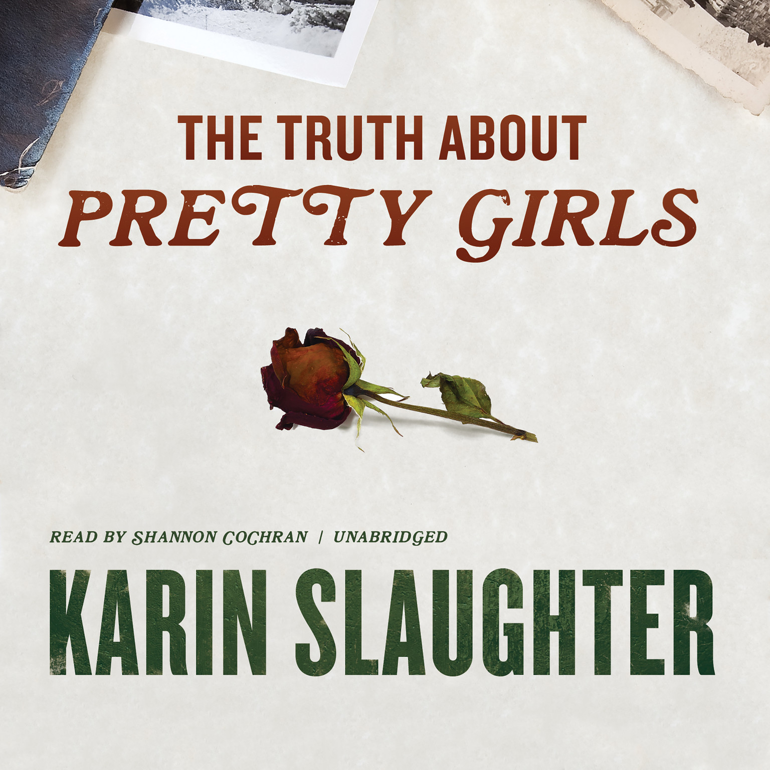 Printable The Truth about Pretty Girls Audiobook Cover Art