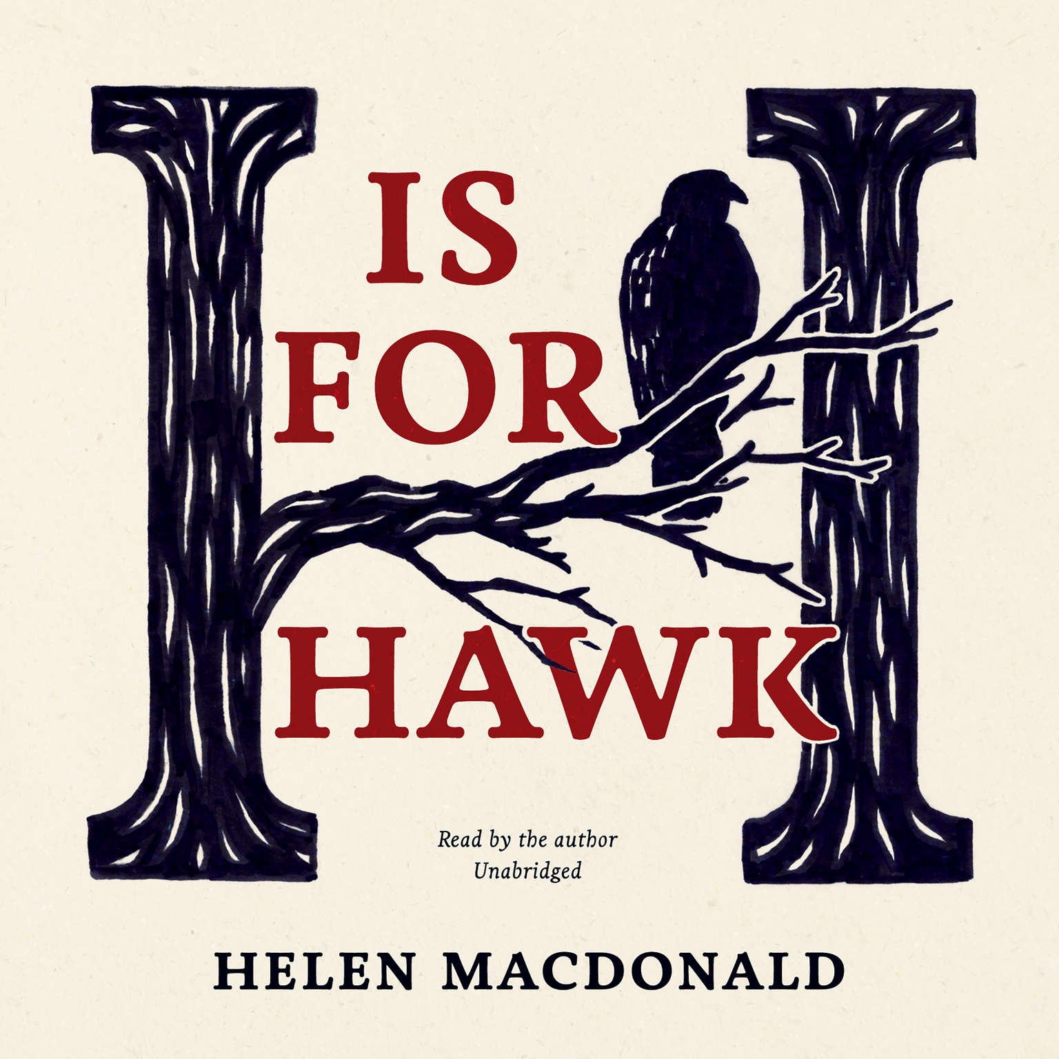 Printable H Is for Hawk Audiobook Cover Art