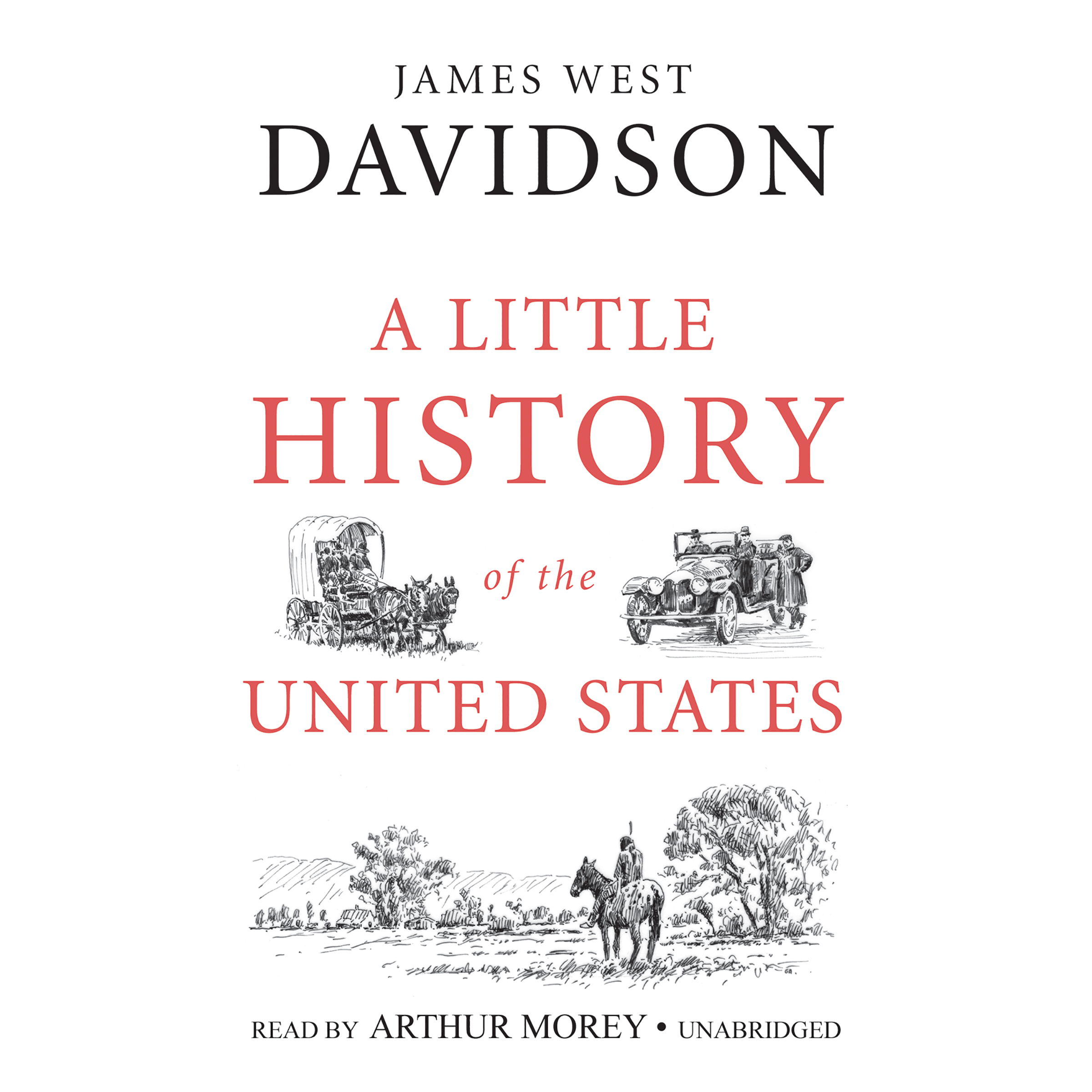 Printable A  Little History of the United States Audiobook Cover Art