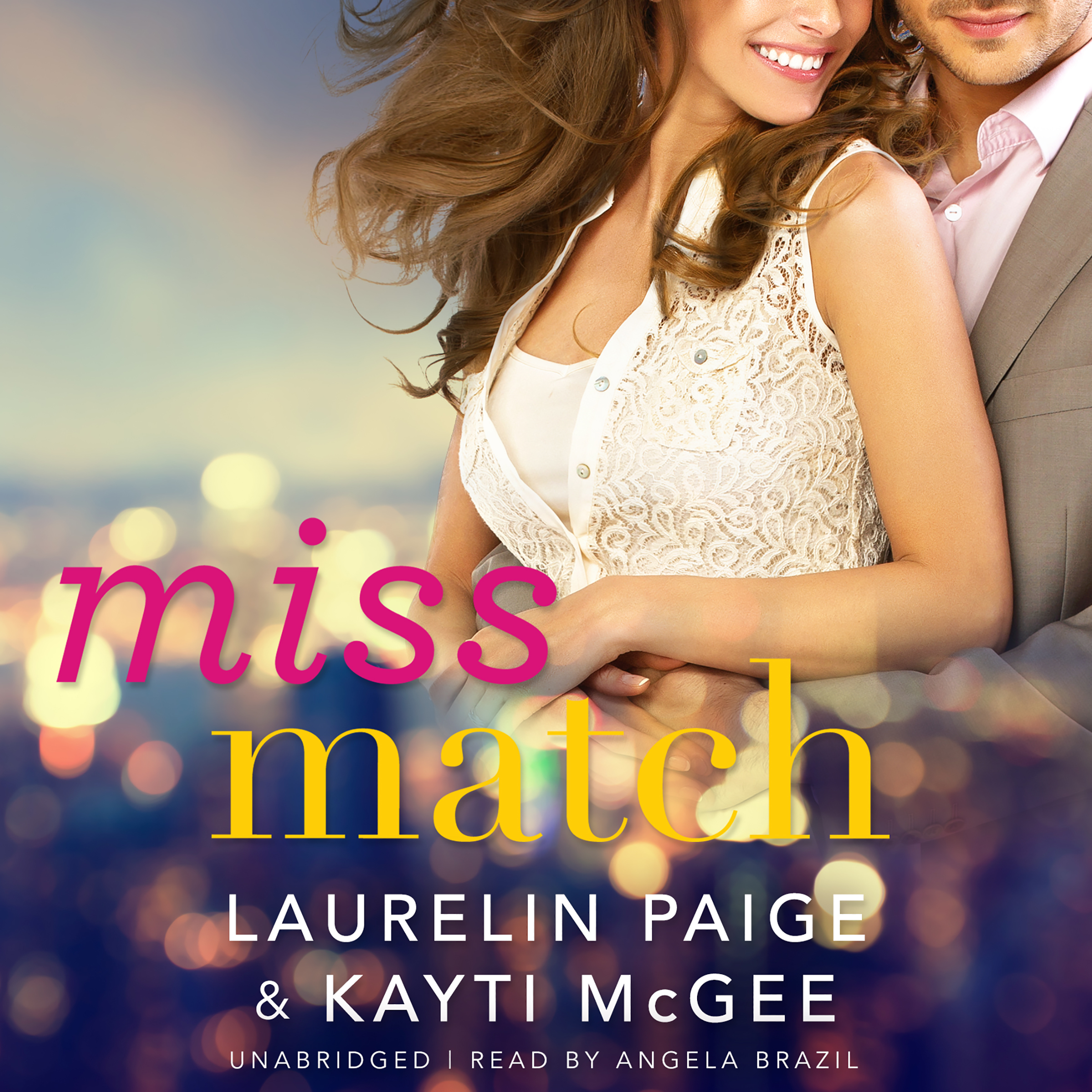 Printable Miss Match Audiobook Cover Art