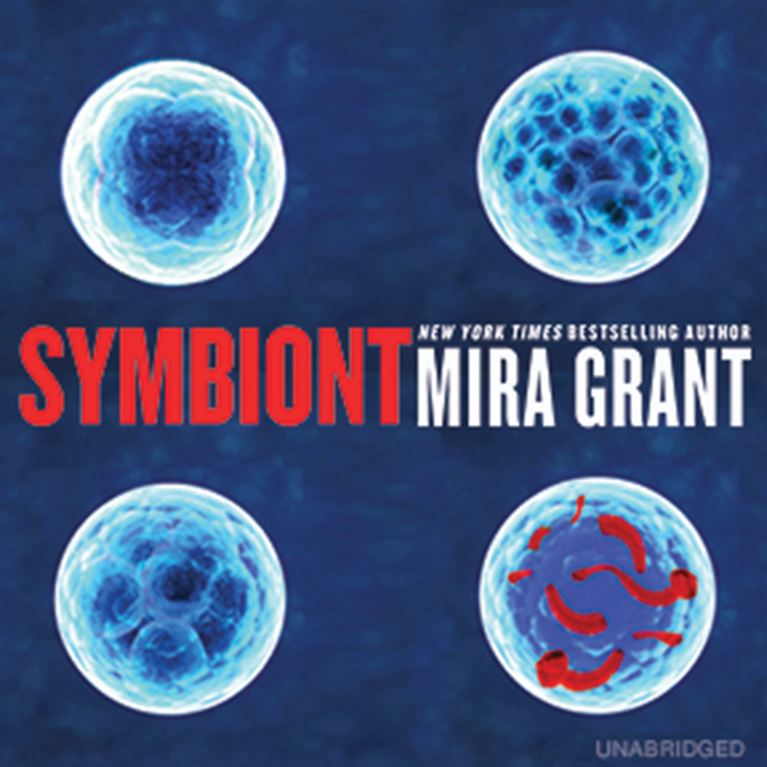 Printable Symbiont Audiobook Cover Art
