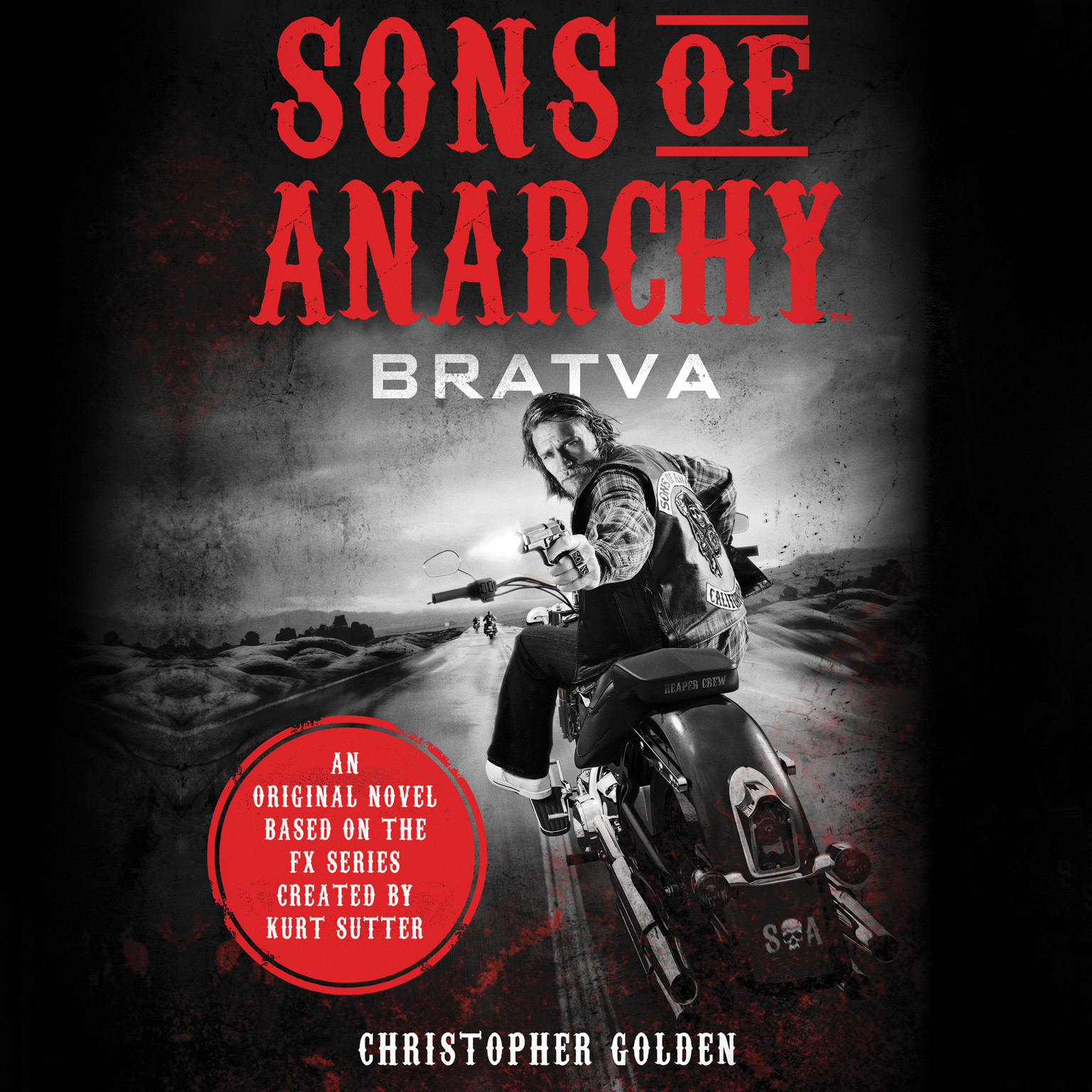 Printable Sons of Anarchy: Bratva Audiobook Cover Art
