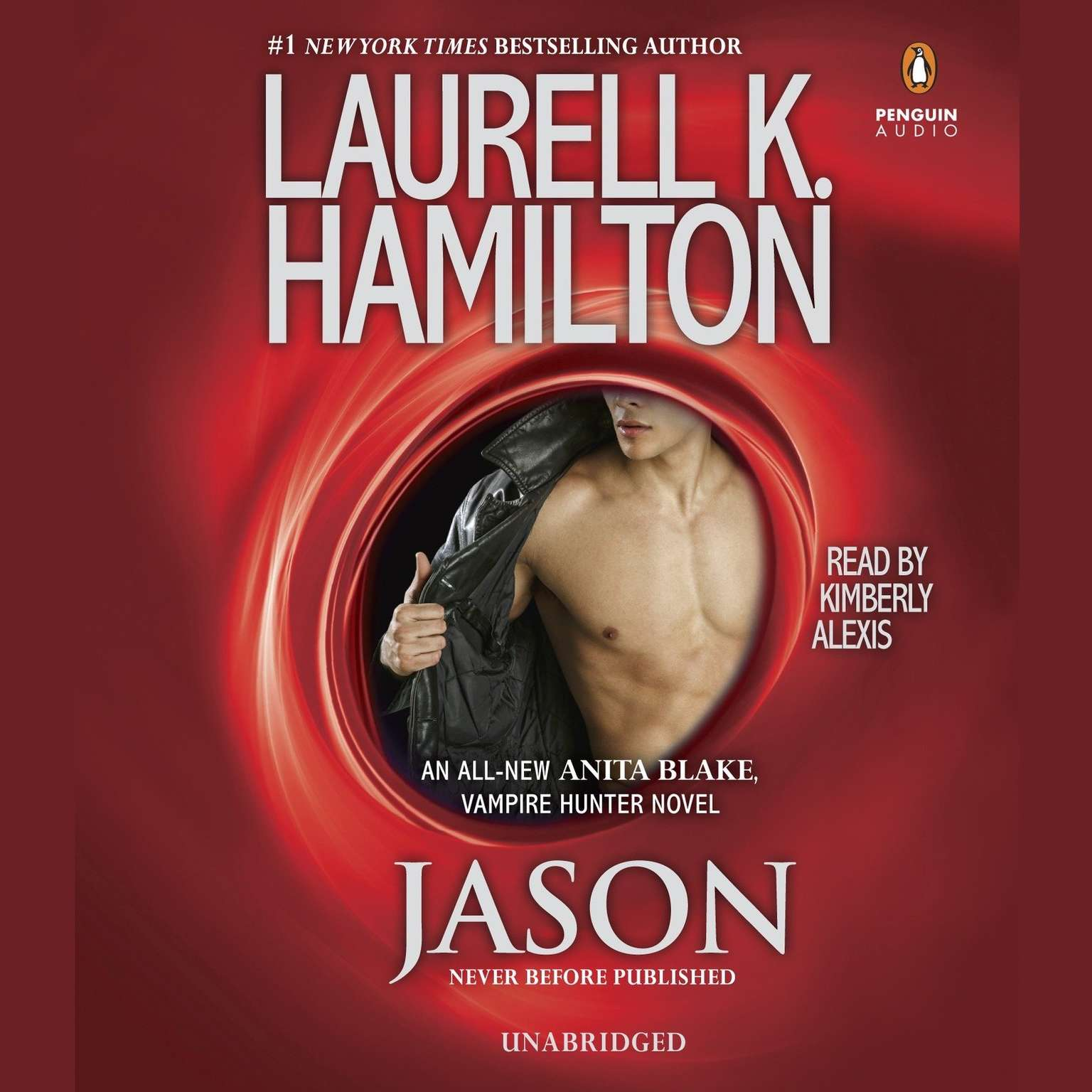Printable Jason: An Anita Blake, Vampire Hunter Novel Audiobook Cover Art