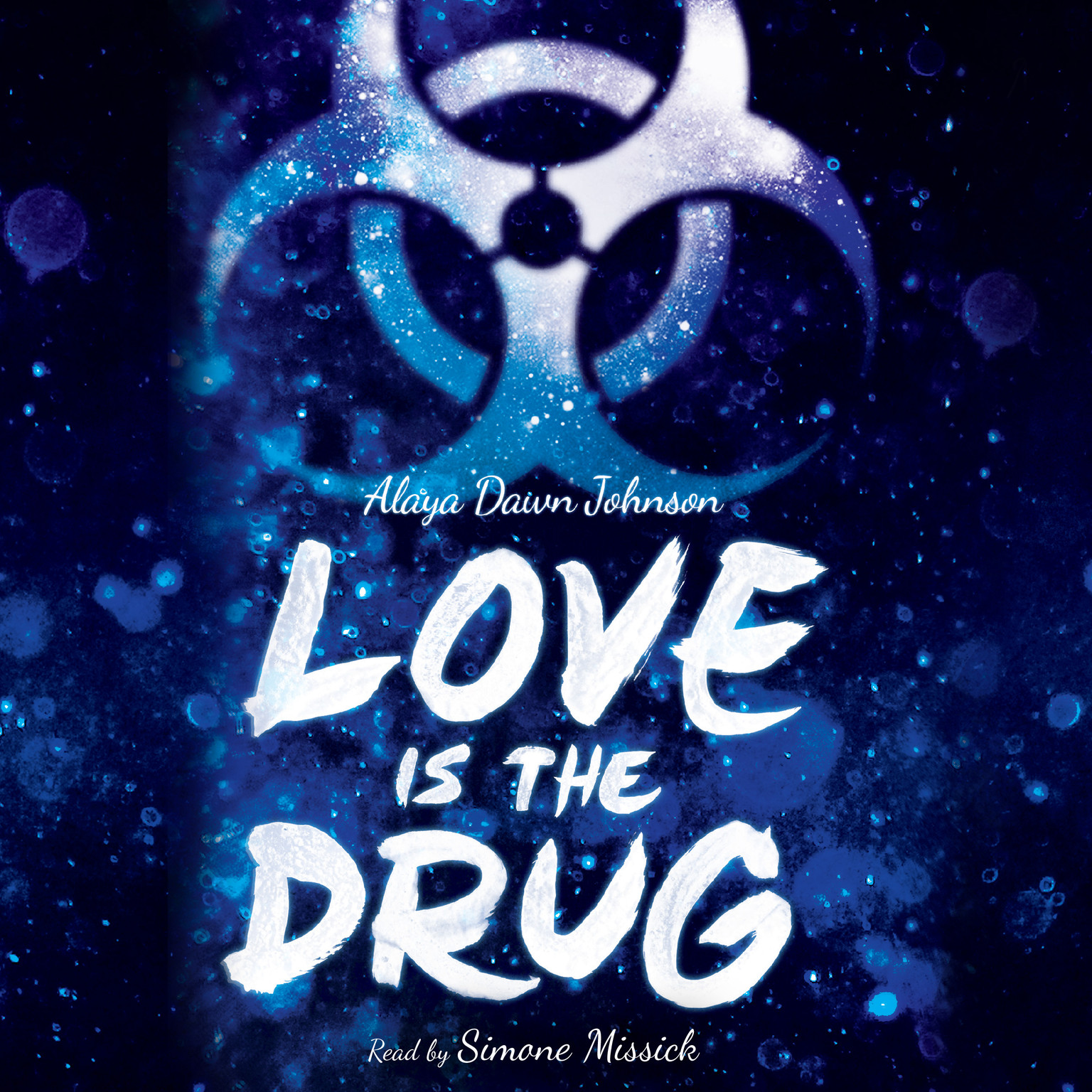 Printable Love Is the Drug Audiobook Cover Art