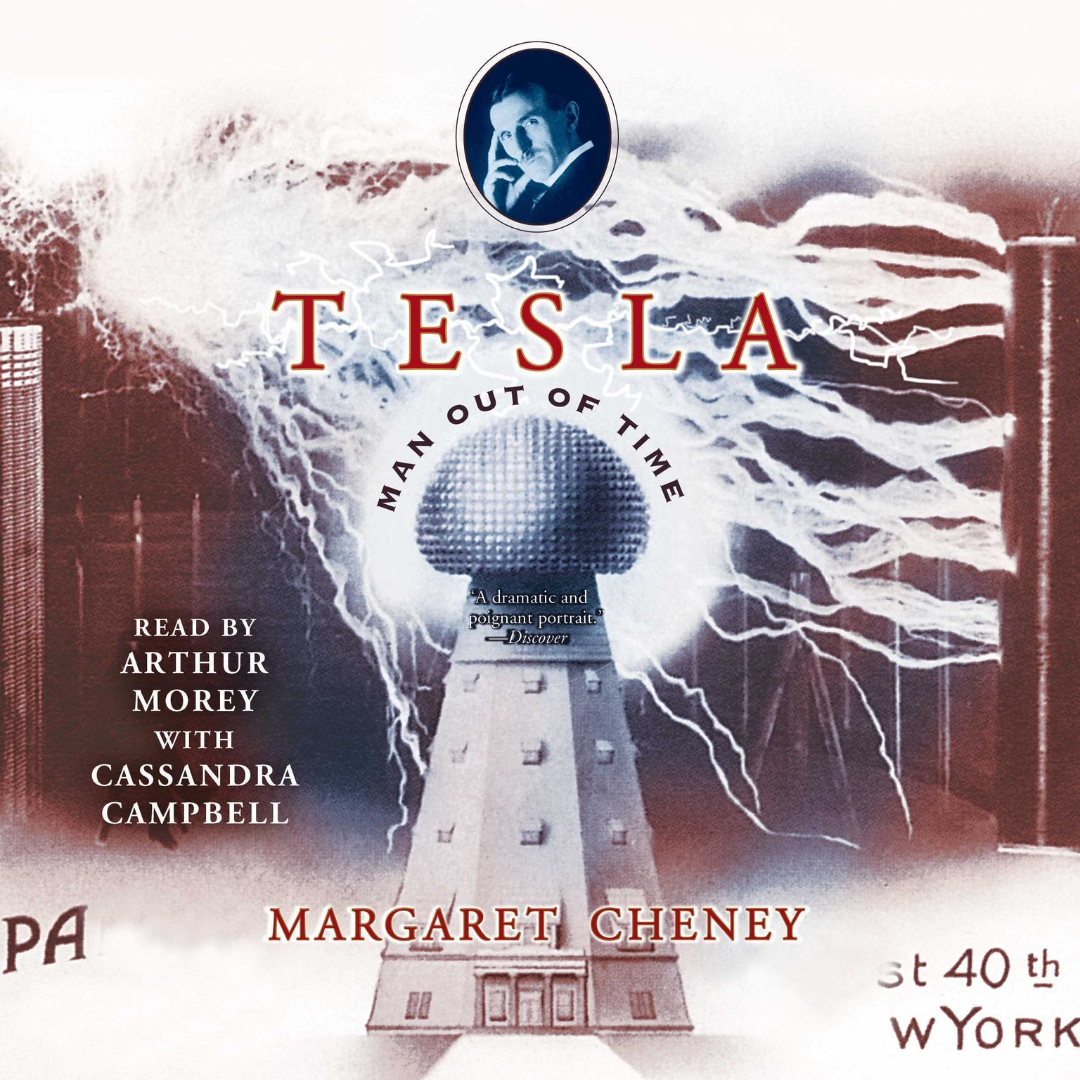 Printable Tesla: Man out of Time Audiobook Cover Art