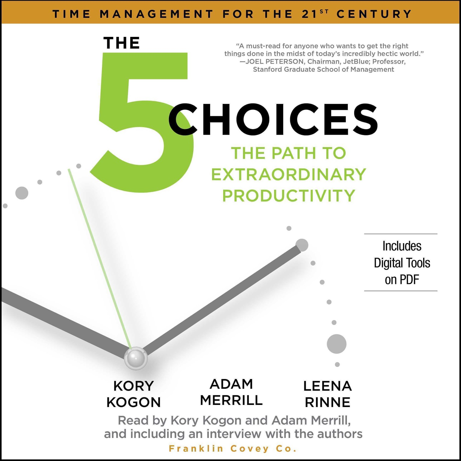 Printable The 5 Choices: The Path to Extraordinary Productivity Audiobook Cover Art