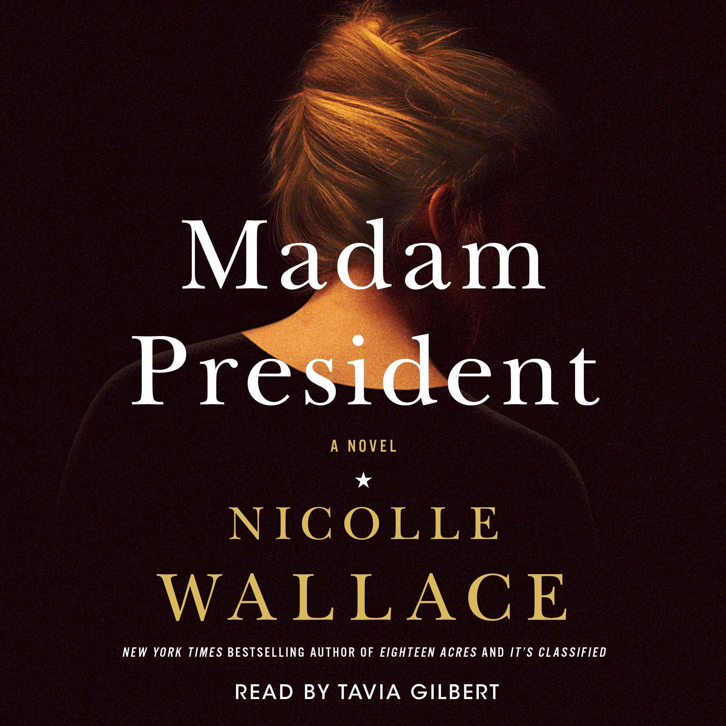 Printable Madam President: A Novel Audiobook Cover Art