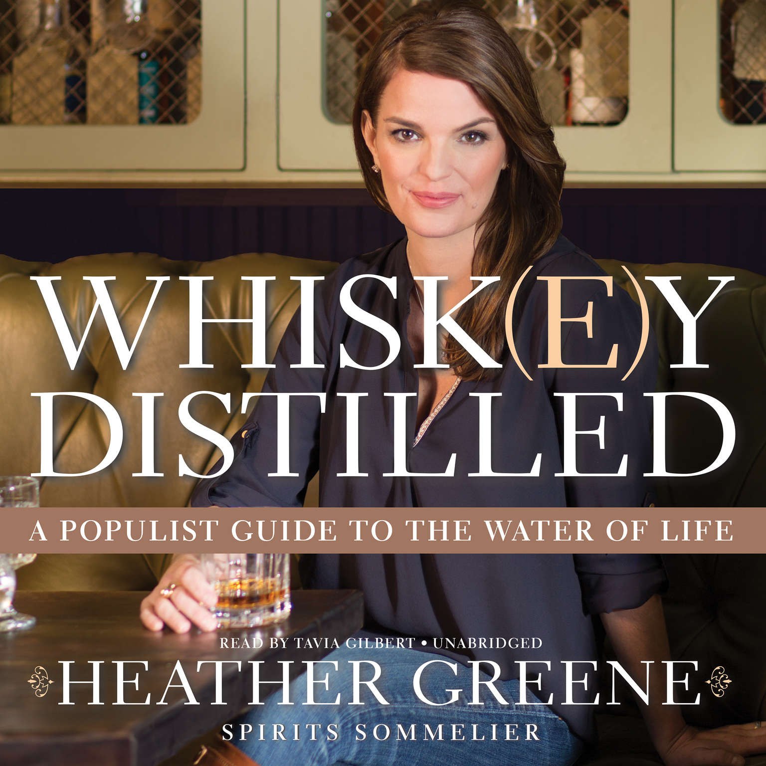 Printable Whiskey Distilled: A Populist Guide to the Water of Life Audiobook Cover Art
