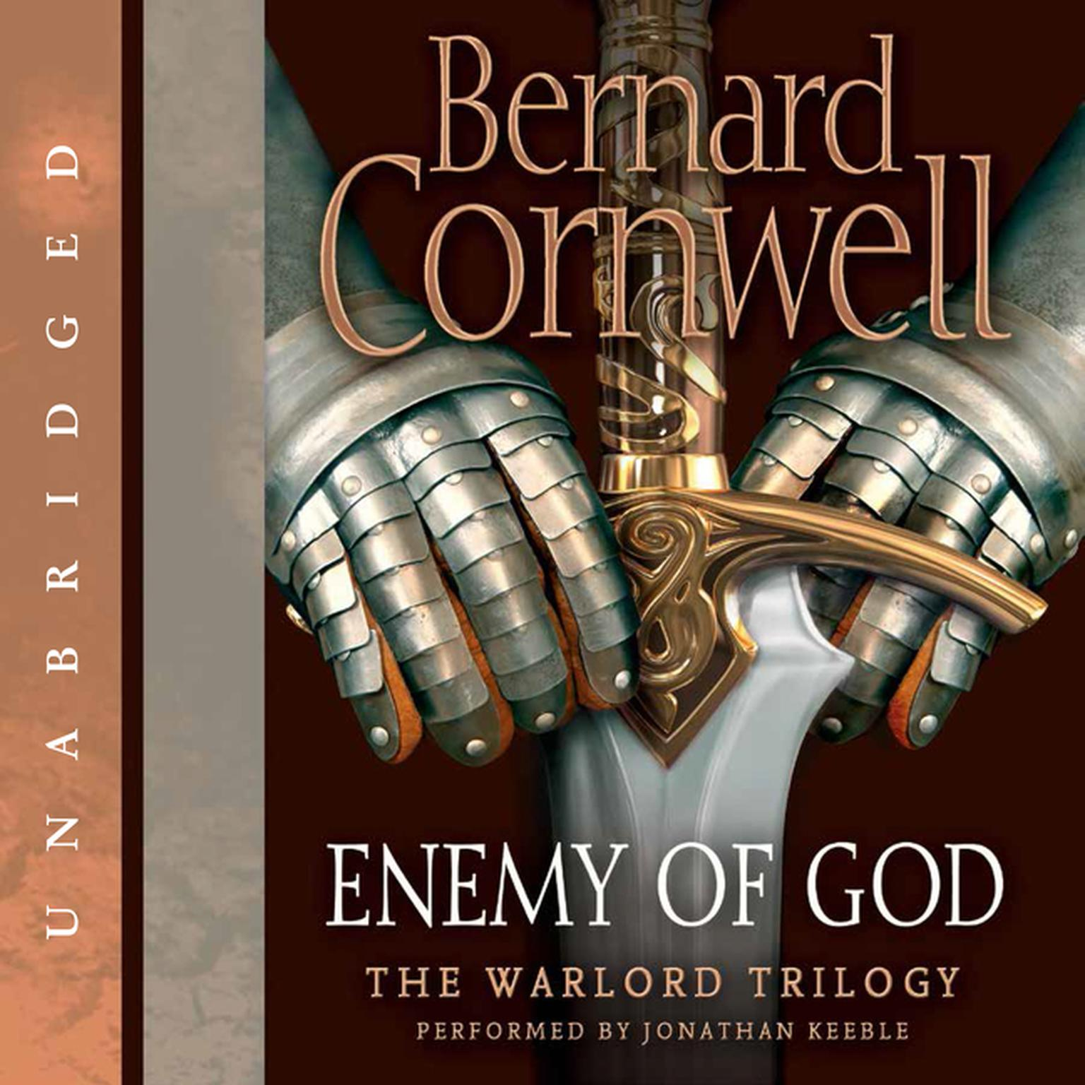 Printable Enemy of God: A Novel of Arthur Audiobook Cover Art