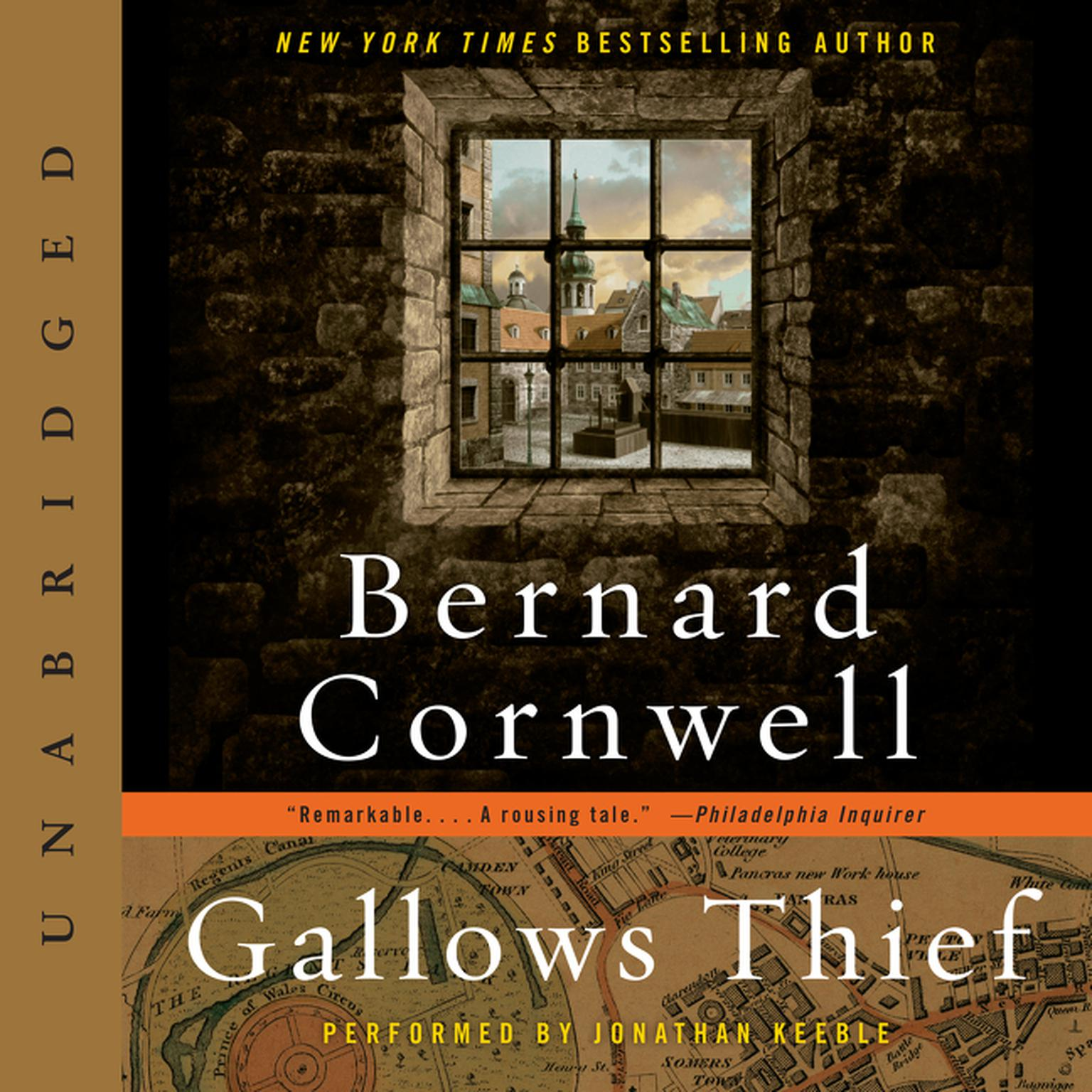 Printable Gallows Thief: A Novel Audiobook Cover Art