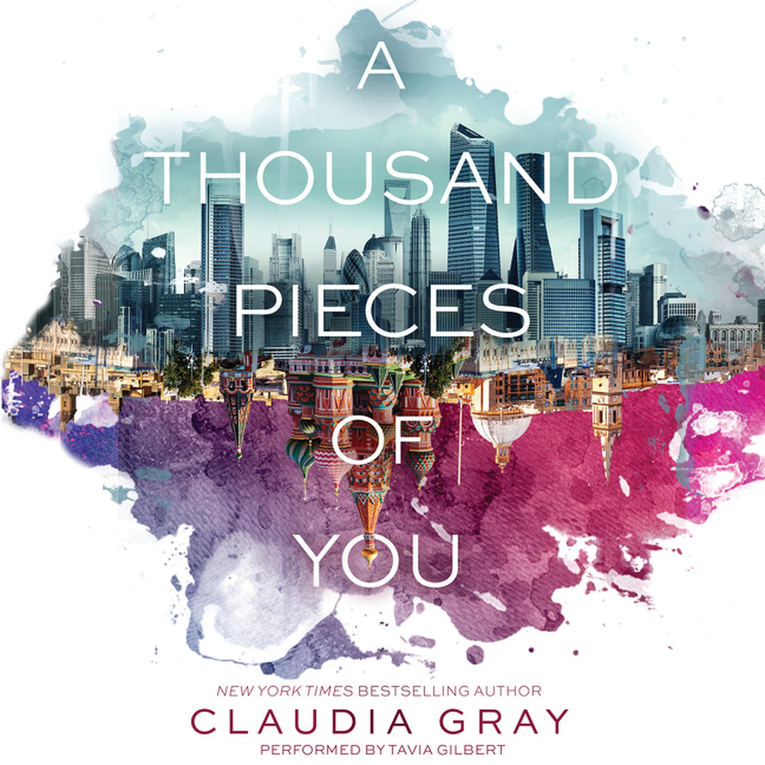 Printable A Thousand Pieces of You Audiobook Cover Art