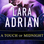 A Touch of Midnight, by Lara Adrian, Hillary Huber