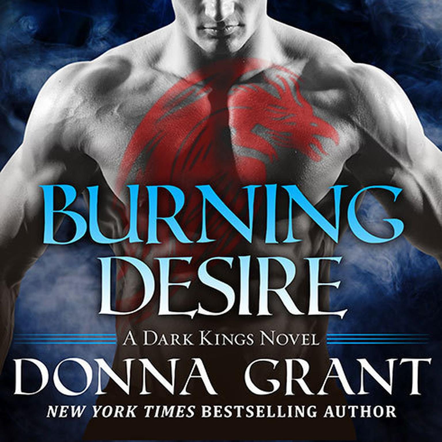 Printable Burning Desire Audiobook Cover Art