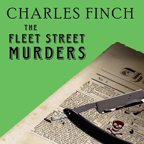 Printable The Fleet Street Murders Audiobook Cover Art