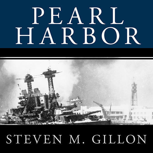 Printable Pearl Harbor: FDR Leads the Nation into War Audiobook Cover Art