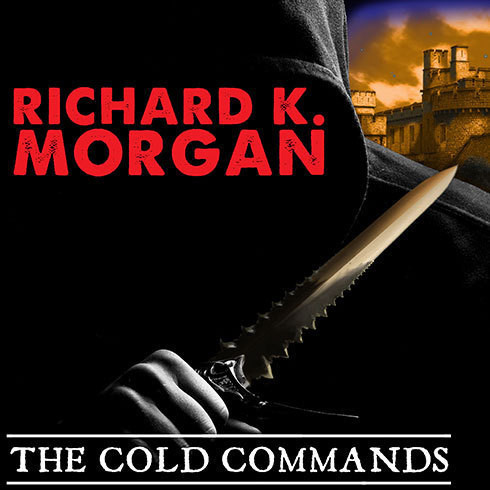 Printable The Cold Commands Audiobook Cover Art