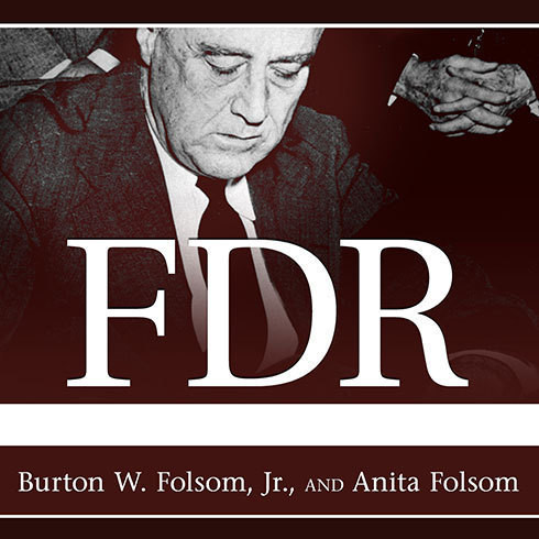 Printable FDR Goes to War: How Expanded Executive Power, Spiraling National Debt, and Restricted Civil Liberties Shaped Wartime America Audiobook Cover Art