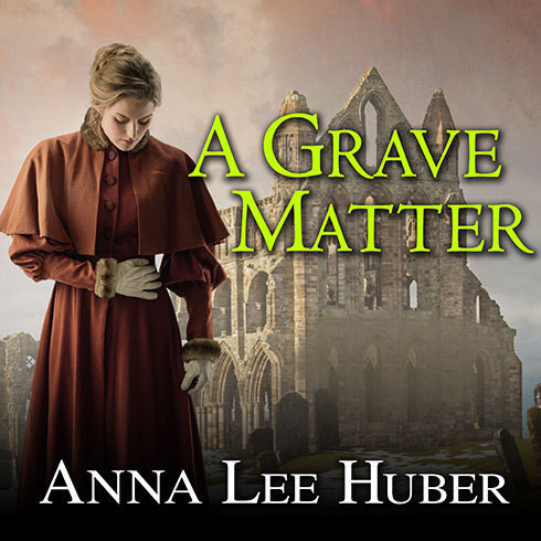 Printable A Grave Matter Audiobook Cover Art