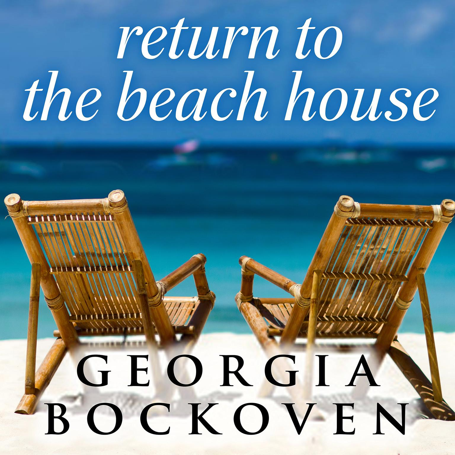 Printable Return to the Beach House Audiobook Cover Art