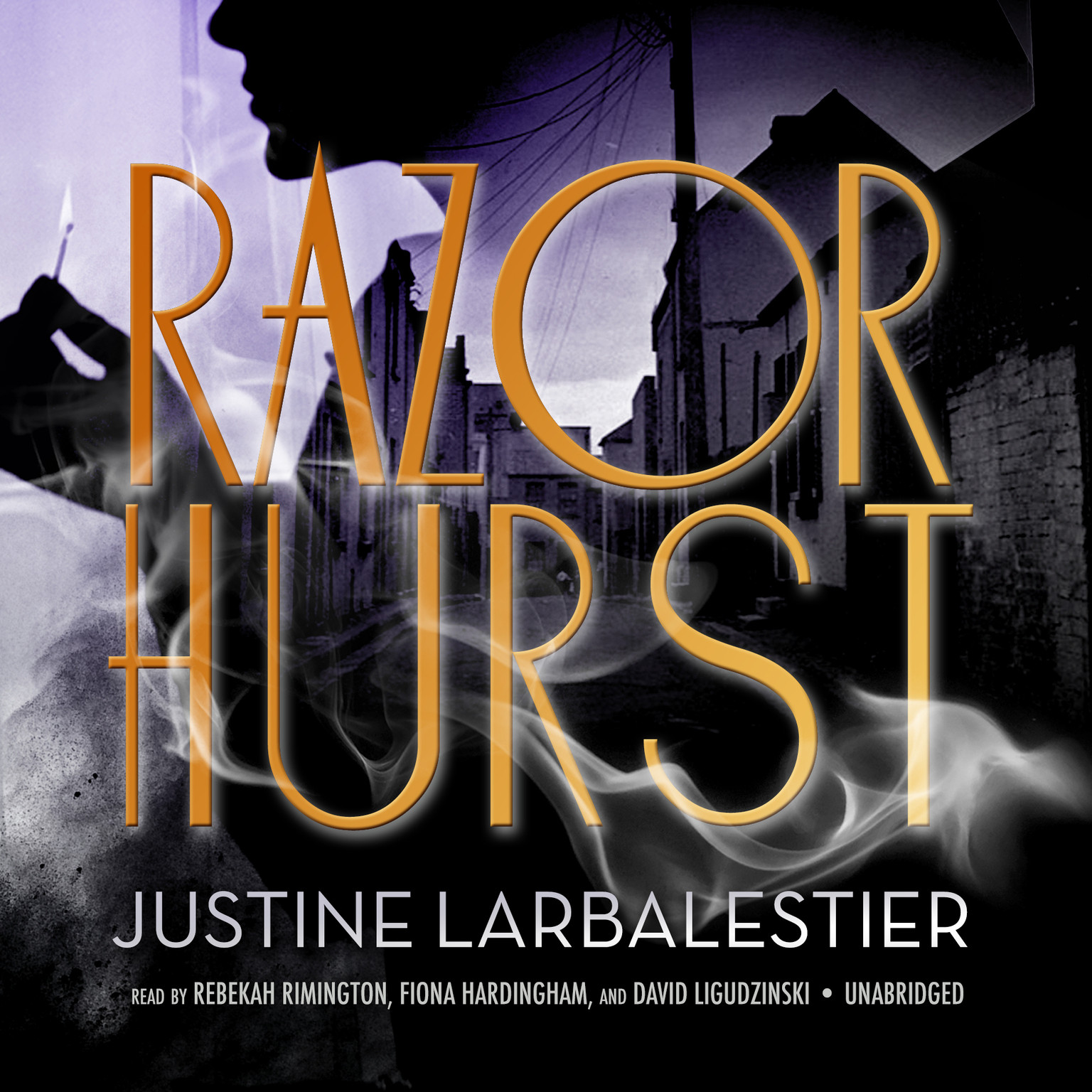 Printable Razorhurst Audiobook Cover Art