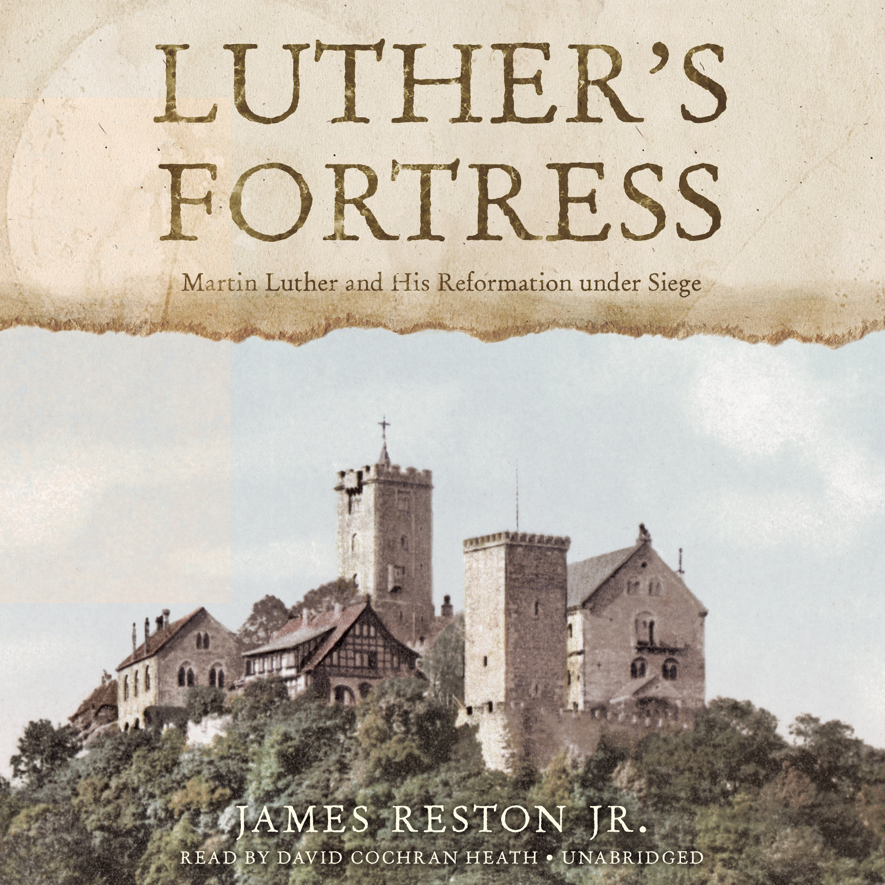 Printable Luther's Fortress: Martin Luther and His Reformation under Siege Audiobook Cover Art