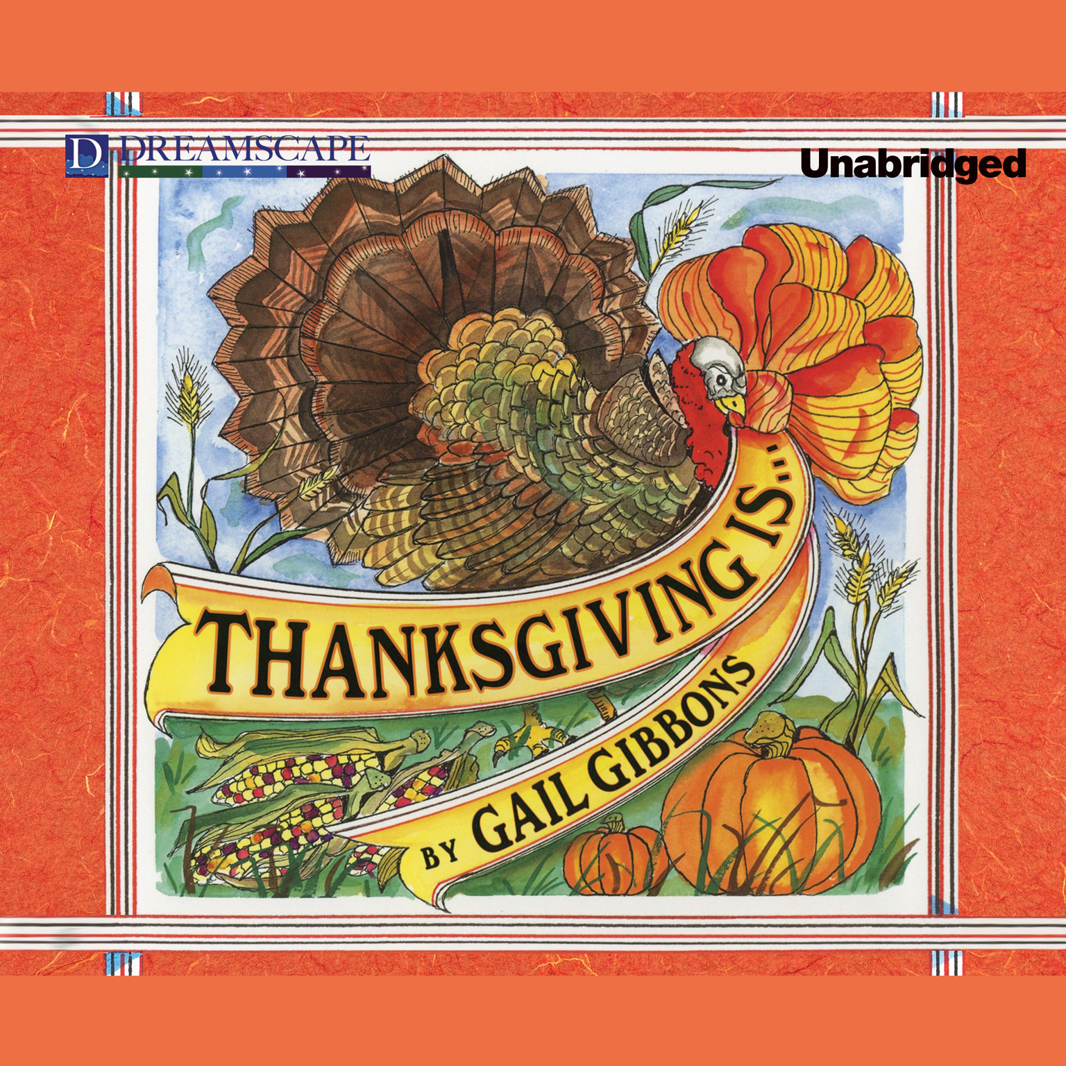 Printable Thanksgiving Is … Audiobook Cover Art
