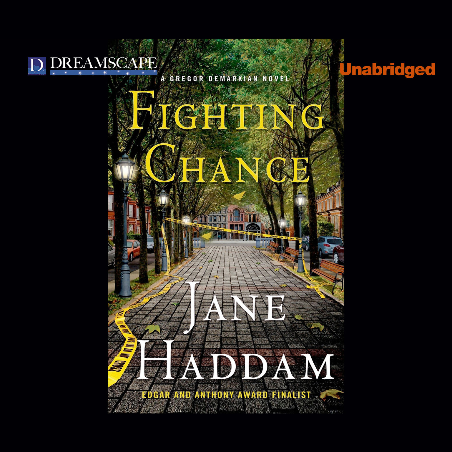 Printable Fighting Chance: A Gregor Demarkian Novel Audiobook Cover Art