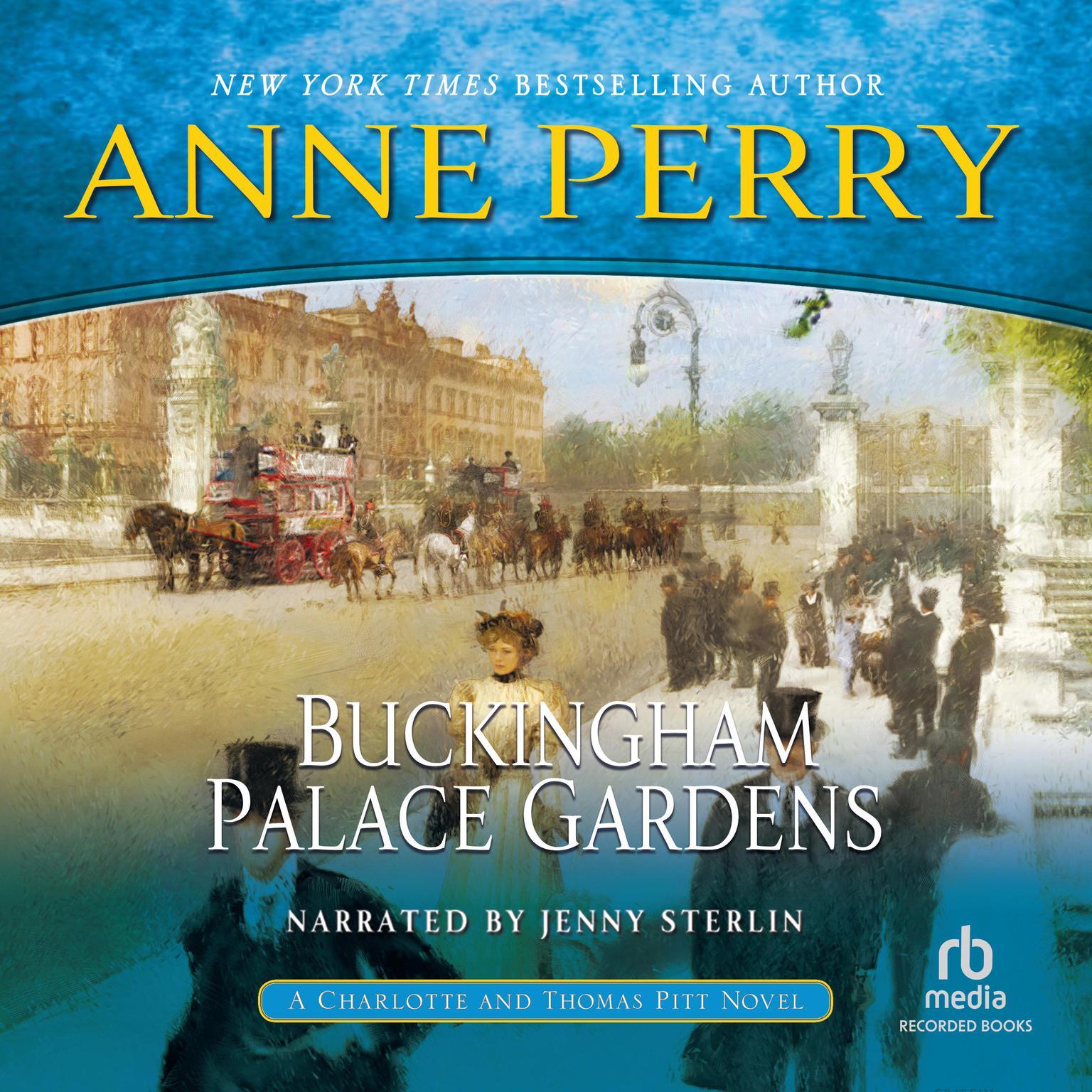Printable Buckingham Palace Gardens: A Novel Audiobook Cover Art