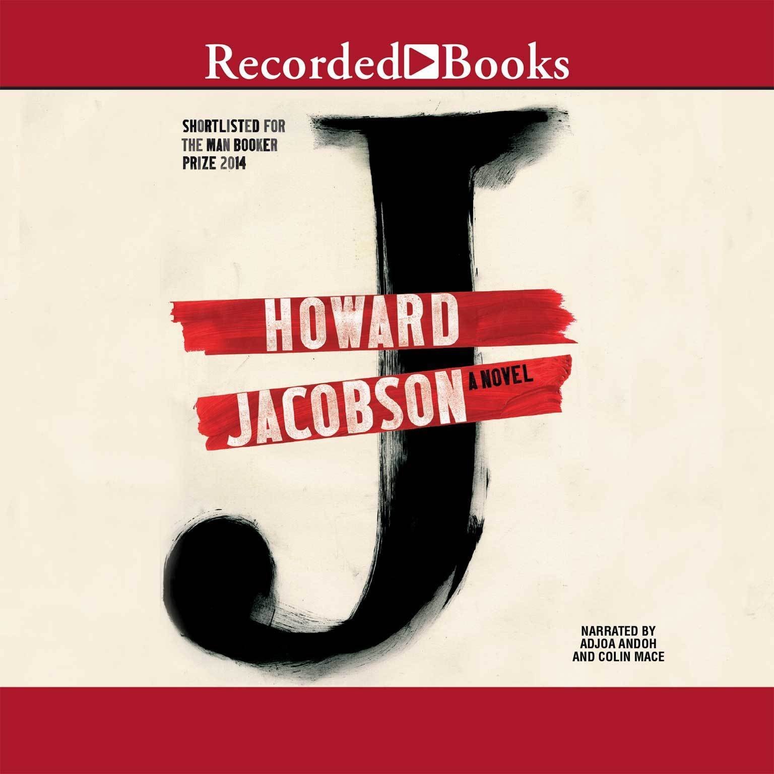 Printable J: A Novel Audiobook Cover Art