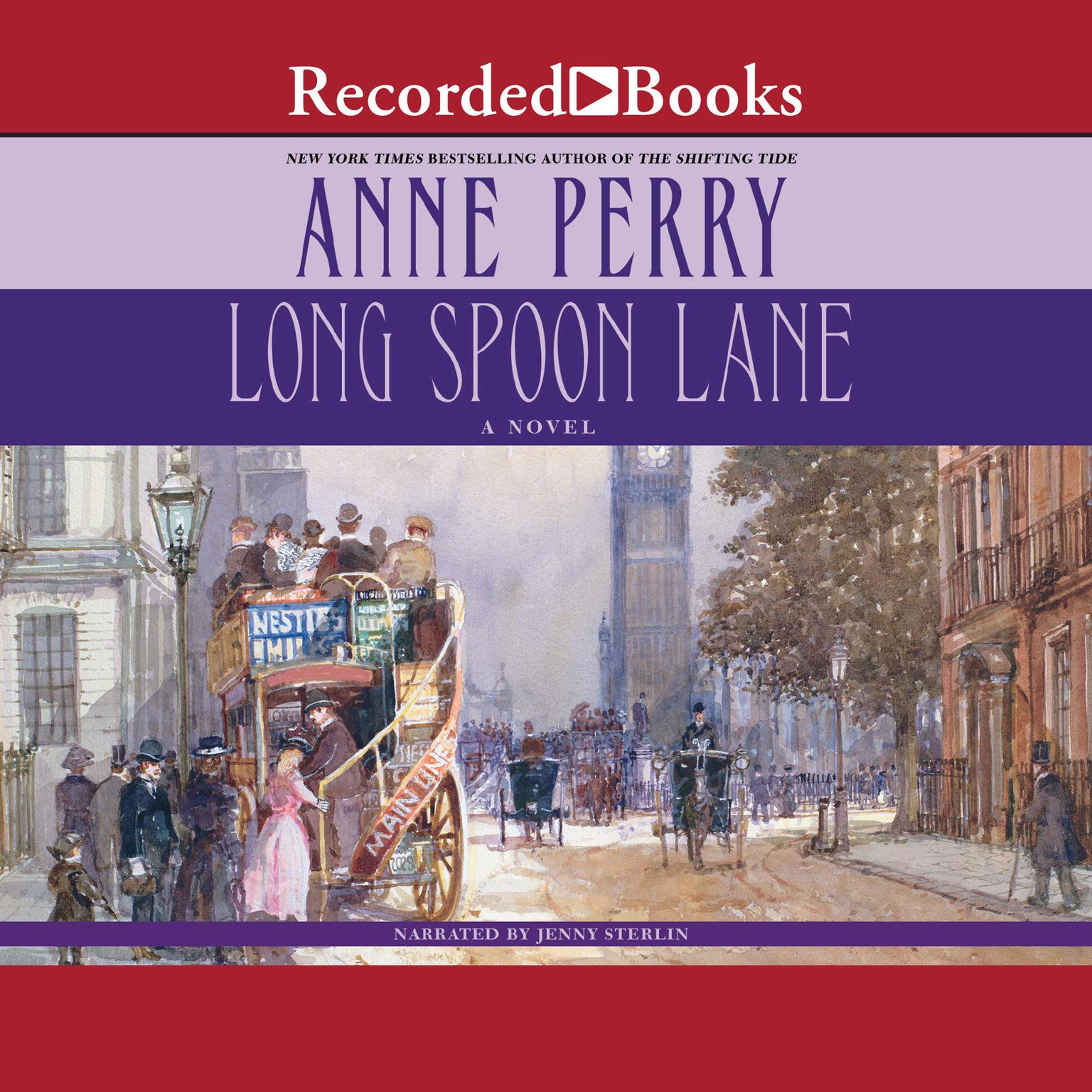 Printable Long Spoon Lane Audiobook Cover Art
