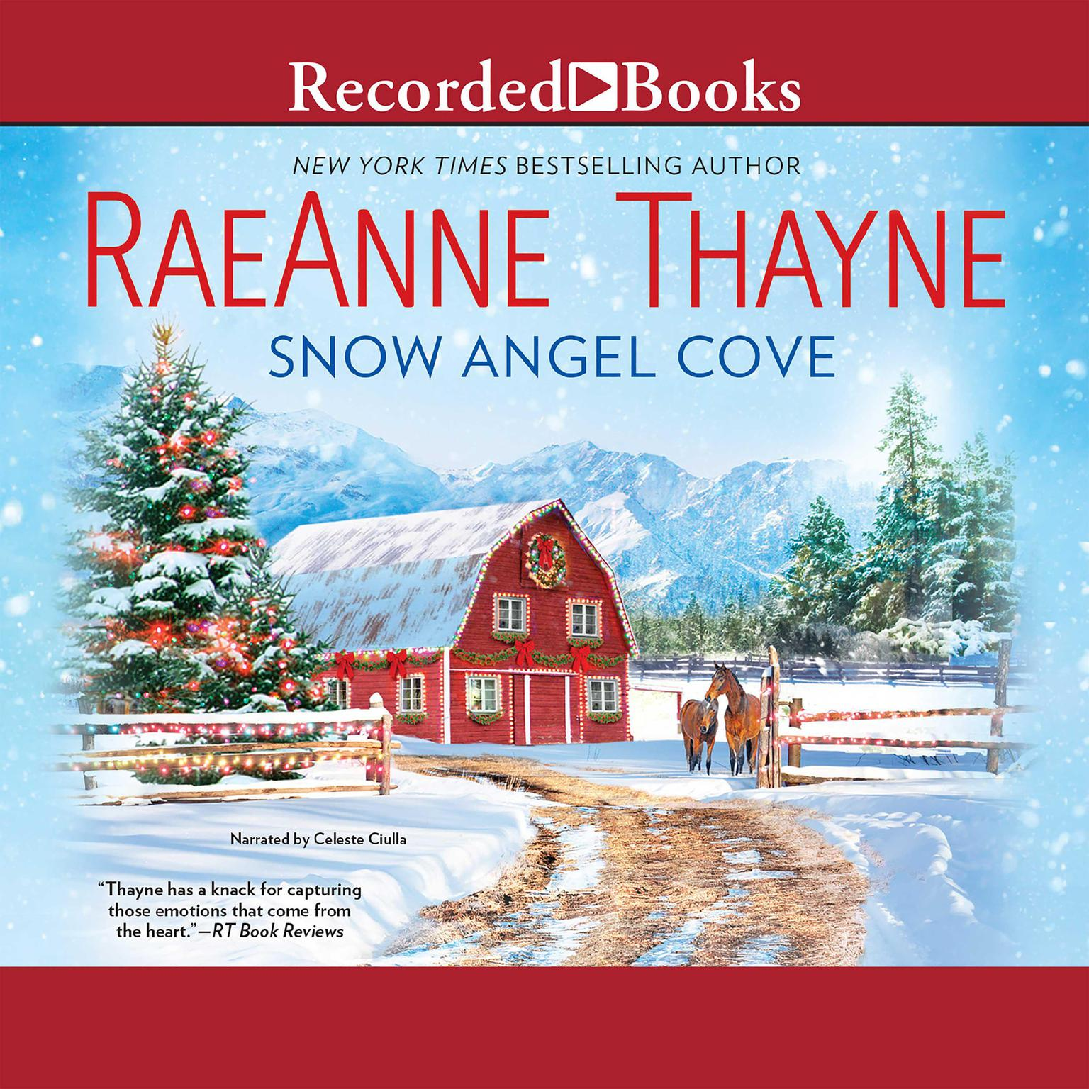 Printable Snow Angel Cove Audiobook Cover Art